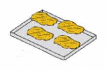 Лист-решітка для овочів гриль GV 110 LAINOX