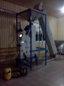 Обладнання для очищення зерна