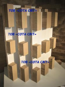 Піддон картонний стільниковий
