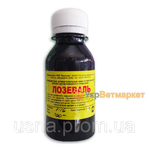 Лозеваль противовирусный препарат, 100 мл, Биостим