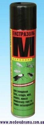 Экстразоль М, КИН, Украина — инсектицидный аэрозоль (300 мл)