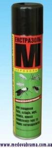 Екстразоль М, КІН, Україна — інсектицидний аерозоль (300 мл)