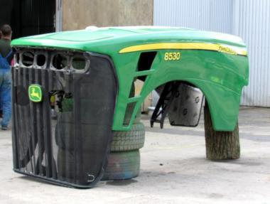 Капот для трактора John Deere 8530