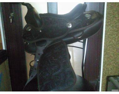 Новое седло вестерн для пони