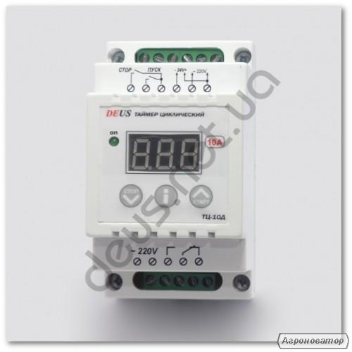Реле часу циклічне, таймер включення / виключення ТЦ-10Д