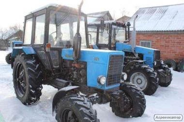 Продается трактор МТЗ 82.1(Беларусь)2014 + плуг и ковш в комплекте