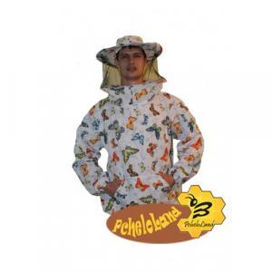 Куртка бджоляра ситцева з маскою