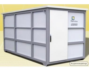 контейнерна АЗС, міні АЗС, мобільний АЗС блок-пункт автозаправний
