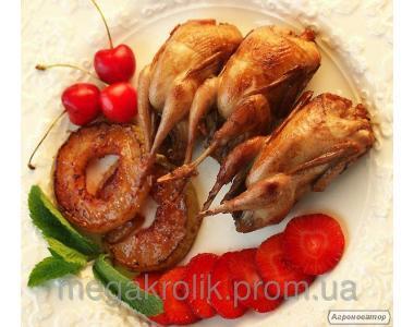 Охолоджене перепелине м'ясо