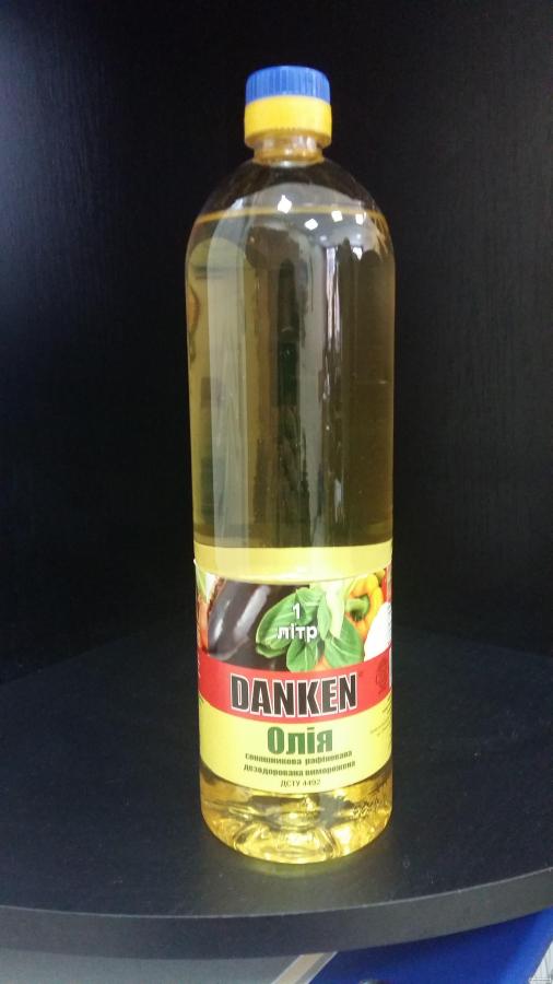 Продам подсолнечное рафинированное масло в 1 литровой бутылке