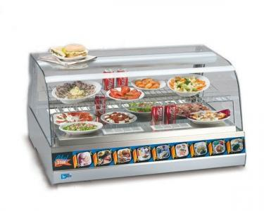Витрина холодильная Tecfrigo Chef 3 Turbo PS (БН)