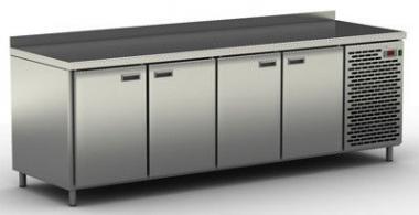 Стіл холодильний з бортиком ССТ-4S