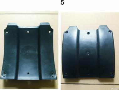 Черевик Жатки CATERPILLAR Lexion F535 (пластина ковзання)