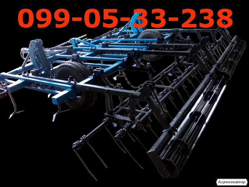 КПС-4 прицепной 3-х рядный с катками и пружинно