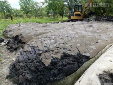 Очищення водойм, Озерний і ставковий мул, сапропель