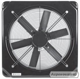 Настінні осьові вентилятори Deltafan