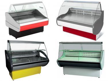 Вітрини холодильні. Торговий холодильник нові за ціною б/у б/в