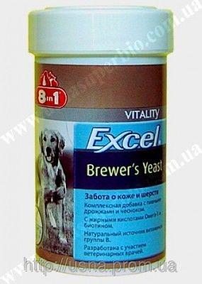 8 в 1 Витамины для собак Excel Brewers Yeast для собак (140 шт. )(109495)