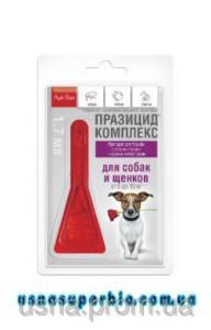 Празицид-комплекс для собак 5-10 кг 1 пип. х 1,7 мл