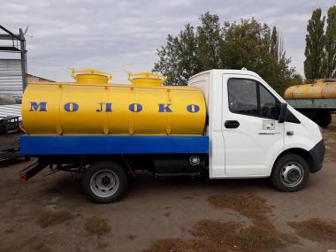 Цистерна для молока, води і харчових продуктів Г6-ОТА-1,3