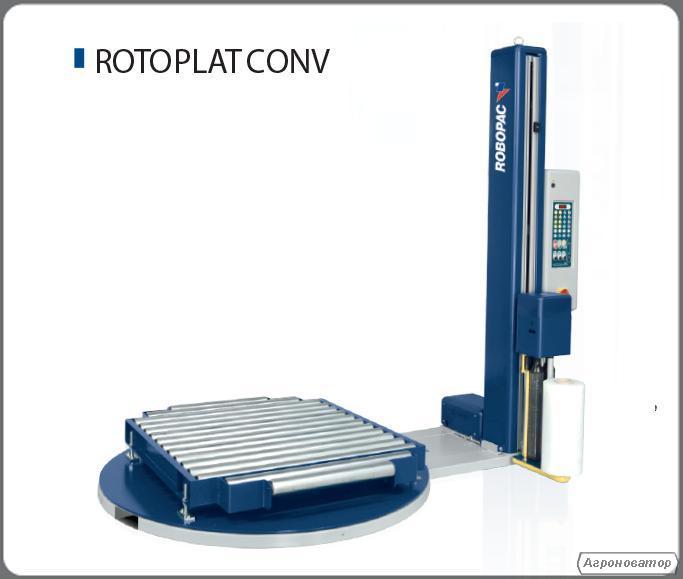 Паллетоупаковочное обладнання Rotoplat Conv