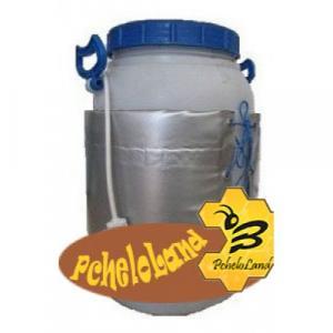 Декристаллизатор для розпуска меду в пластиковій ємності 30 л.