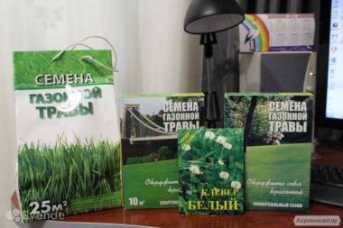 Суміш насіння газонних трав Україна 2017года