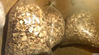 Продам белые сушеные грибы в большом количестве