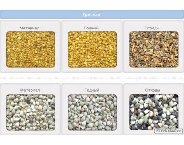 Фотосепаратор: сортування і очищення зернових, бобових, олійних.