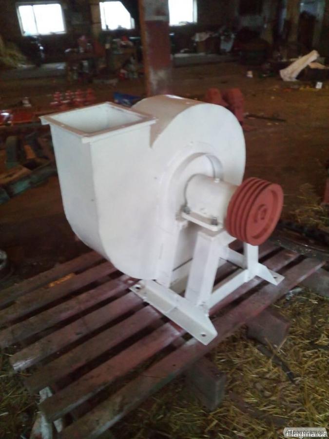 Вентилятор високого тиску млинів АВМ-7,15