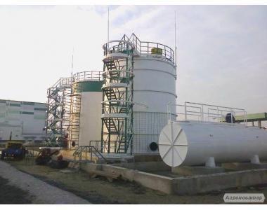 Резервуары , емкости, баки для ГСМ, Аммиачной воды РВС100-5000куб.м