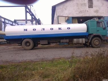 Цистерна для молока, води і харчових продуктів АЦМ-8,2