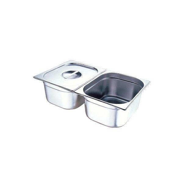 Поддон GASTRORAG TG12040 GN 1/2-40 мм, емкость 2,5 л, нерж.сталь