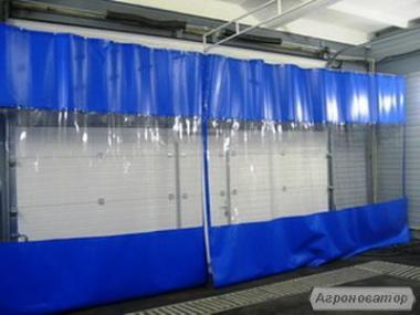 Прозрачные шторы-завесы ПВХ