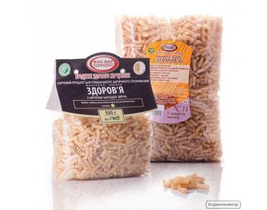 ДІЄТИЧНІ макарони «ЗДОРОВ'Я» №11 з зародком пшениці