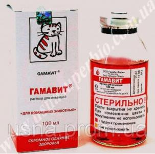 Гамавит – биотоник для животных (100 мл)