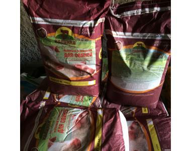 Комбікорма та концентрати для свиней за доступними цінами