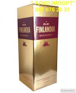 Горілка Finlandia redberry (журавлина) 2 L, гуртом та в роздріб.