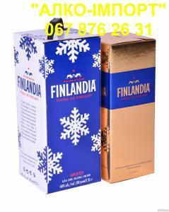 Горілка Finlandia redberry (клюква) 2 L, (розница, опт, drop)