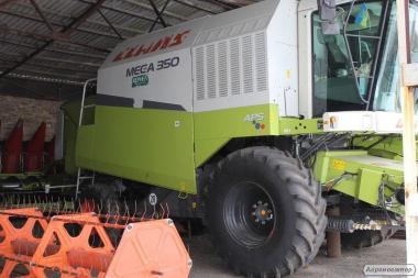 комбайн Claas Mega 350 2005 р/в, эксплуат.з 2006 року