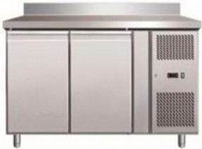 Стіл морозильний 2-х дверна з бортиком GN 2200 ВТ