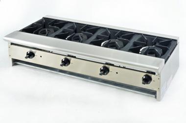 Плита газовая 4-х конфорочная длинная TТ-4-48 CustomНeat