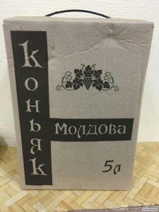 Коньяк МОЛДОВА (40 %) 5л 300 ГРН