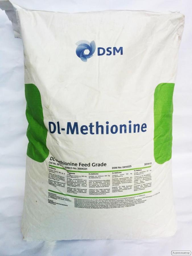 DL-Метіонін 99 % (кормовий), доставка від 25 кг