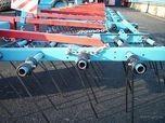 Агрегат ЗПГ-24 містить 16 борін, розташованих в ряд з пружинними зубами