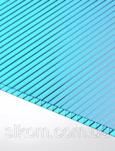 ПК стільниковий Polygal 6 мм, бірюзовий, 2100х6000 СТАНДАРТ
