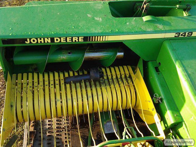 Прес підбирач John Deere 349