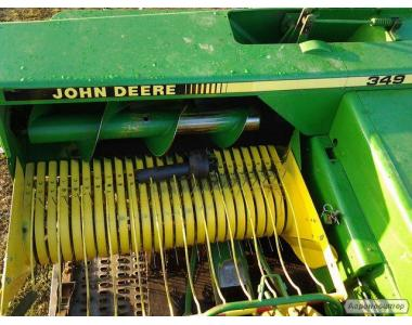 Пресс подборщик John Deere 349