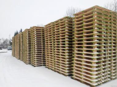 Дерев'яний стандартний піддон