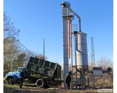 Миниэлеватор   с функцией сушки посевного зерновог